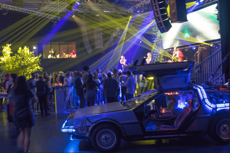 Back to the future themafeest