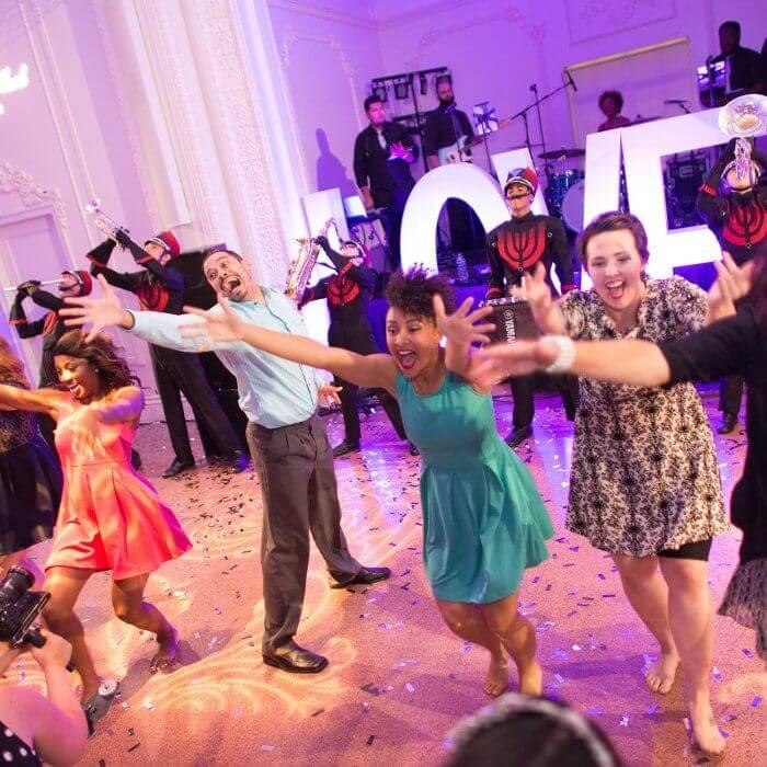 Bruiloft flashmob