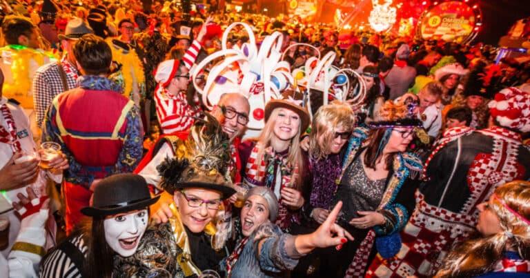 Carnaval feest