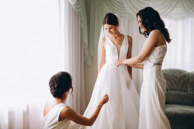 Voorbereidingen bruiloft ceremoniemeester 1