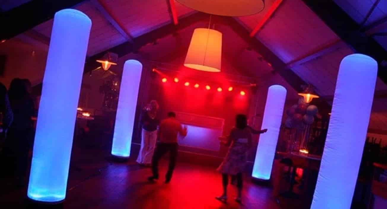 Allround dj service aircone lichtzuil