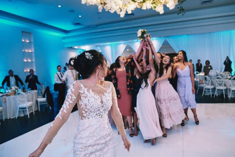 Bruidsboeket gooien liedjes