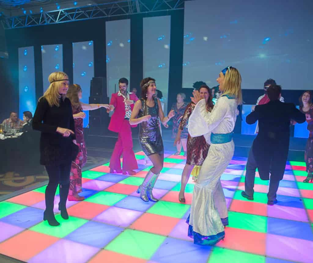 Disco led dansvloer