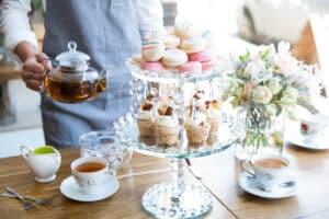 Impala and peacock tea atelier 558 sydney road brunswick bridal baby shower high tea experience pix 4 1