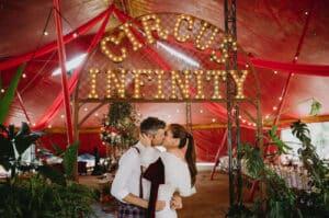 Circus wedding 10 1