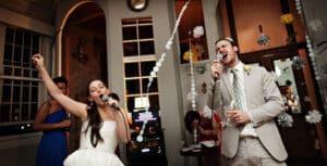 Karaoke wedding 1