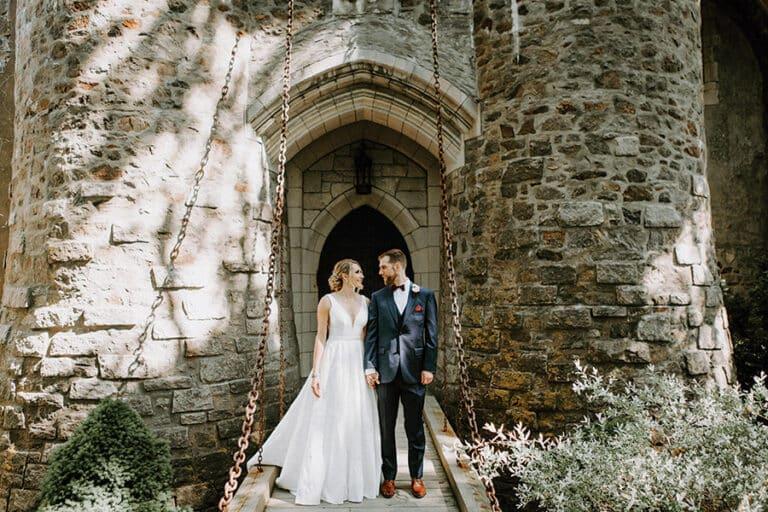 Kasteel feest bruiloft