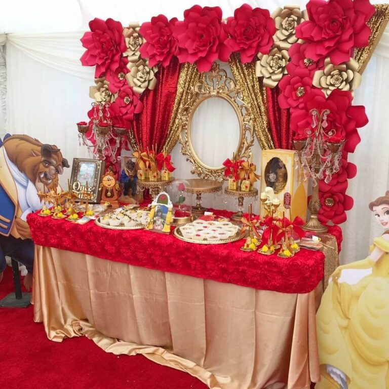 Beauty and the beast thema
