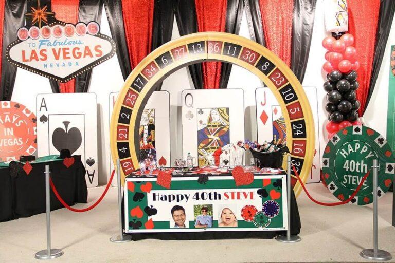 Casino themafeest