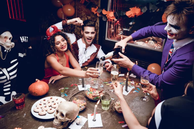 Halloween themafeest