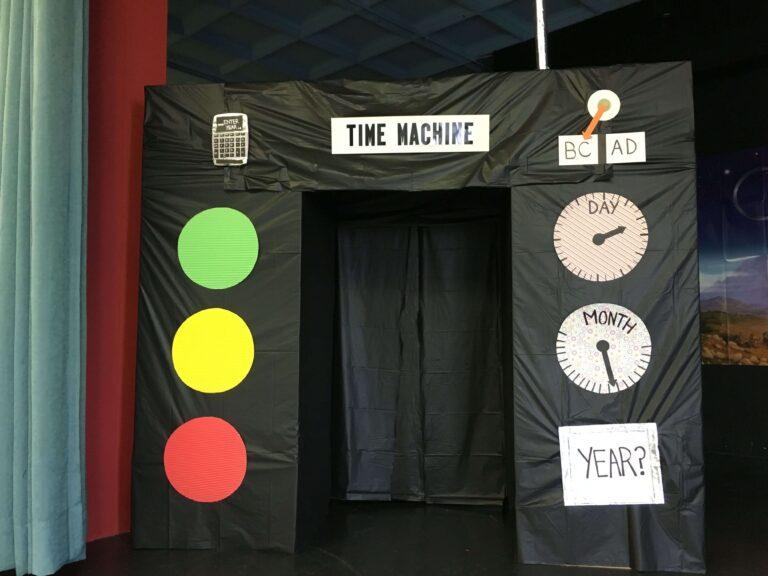 Themafeest tijdmachine